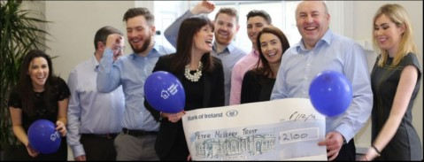 Contracting PLUS raises vital funds for the Peter McVerry Trust!