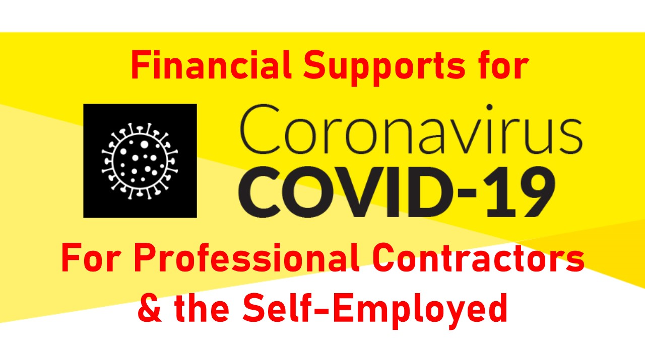 Covid -19  Financial Supports announced for the Self-employed